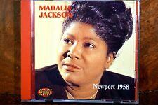Newport 1958 - Mahalia Jackson  - CD, VG
