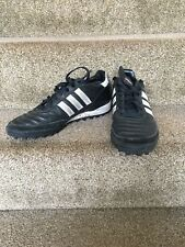 Mens black Adidas Mundial Team astro turf trainers, UK size 8.5