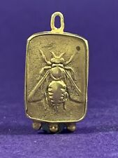 V RARE ANCIENT ROMAN GOLD ELECTUM AMULET DEPICTING BEE - STUNNING - CIRCA 300BC