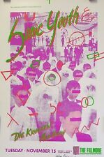 Sonic Youth | Art by  Arlene Owseichik - Original 1988 Concert Poster Signed*