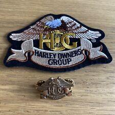Lot Patch Et Pins HOG harley Davidson Owner Group - Neuf Moto Collector