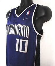 NIKE Boy's NBA Jersey Medium 12/14 Sacramento 10 Mike Bibby Purple Embroidered
