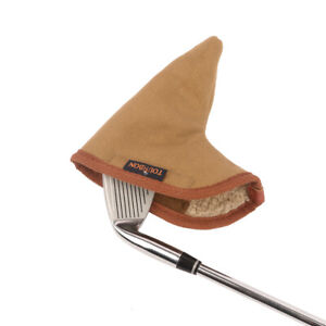 Tourbon Canvas Golf Clubs Head cover Iron Clubs Protective Pouch-Soft Lined