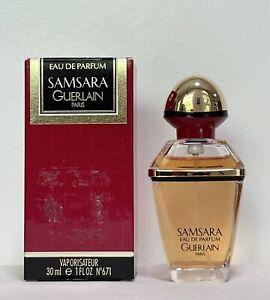 Vintage SAMSARA Guerlain Eau de Parfum Perfume Spray 1 oz 30mL 90% Full READ