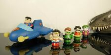 Fisher Price Little People Superheroes DC Wonder Woman, Superman and Jet - Works