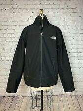 North Face Mens Apex Chromium Thermal Softshell Jacket Black Lined Size Medium