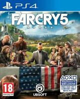 Far Cry 5 PS4 MINT Condition Same Day Dispatch 1st Class Super Fast Delivery