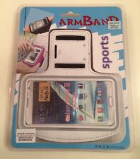 White Samsung Galaxy Note 2 N7100 Sports Armband