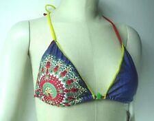 Desigual Damen Triangel Bikinioberteil Bedruckt - Lisa - Gr. M -