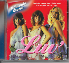 LUV' - Luv - Hollands Glorie CD Album 18TR Euro Disco 2002 + Hit-Medley