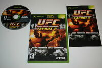 UFC Tapout 2 Microsoft Xbox Video Game Complete