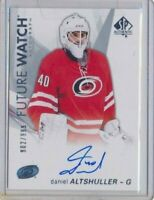 2016-17 SP Authentic Future Watch AUTO RC 144 Daniel Altshuller /999 Hurricanes