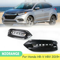 LED Daytime Running Light Driving Fog Lamp DRL For Honda HR-V HRV 2019+ White