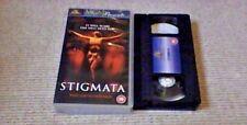 STIGMATA MGM UK PAL VHS VIDEO 2001 Patricia Arquette Gabriel Byrne HORROR