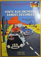 Très beau catalogue VENTE AUX ENCHERES BD DROUOT Mai 2010