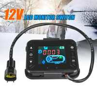 Heater Controller LCD Monitor Switch & Remote Control for Car Diesel Air Parking