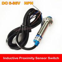 DC 6V-36V LJ12A3-4-Z/BX Inductive Proximity Sensor Switch Approach NPN 3 Wire