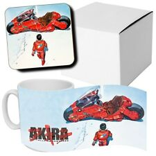 Akira - Anime - Manga - Coffee MUG CUP + Wooden Coaster - Japanese Anime - Gifts