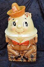 Vintage Humpty Dumpty Cookie Jar Royal Sealy Japan