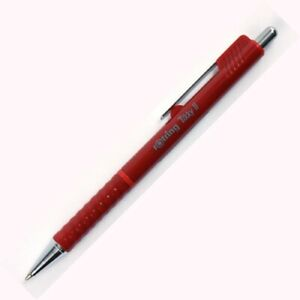 Rotring TIKKY II Ballpoint Pen RED New Blue ink