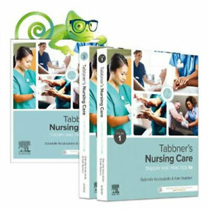 NEW Tabbner's Nursing Care, 2-Volume Set +Elsevier Adaptive  Quizzing for Tabbne