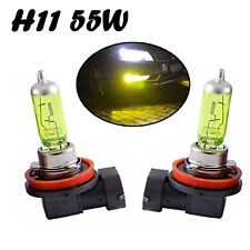 2x H11 55W 12V PGJ19-2 Jurmann Aqua Vision Gelb Scheinwerfer Lampe E-geprüft
