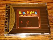 B. B. KING LIVE AT THE REGAL  MFSL GOLD CD SEALED