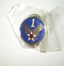 WWII USAAF 1ST AIR FORCE PIN - CURRENT PRODUCTION - GREAT FOR CAPS/JACKETS!