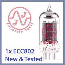 1x Jj Tesla 12Au7 / Ecc802S Vacuum Tube Tested