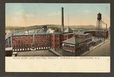 Postcard: Shoe Factory - Endicott, Johnson & Co. - Lestershire, New York
