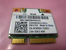Dell Inspiron 15R 14R 17R Wireless Wifi Card DW1703 FXP0D Half 802.11N 1703