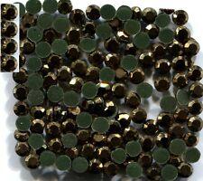 720 Rhinestone 3mm GOLD HEMATITE Color Hot Fix 5 Gross