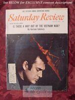 Saturday Review April 8 1967 HAROLD PINTER HARRISON SALISBURY NAT HENTOFF