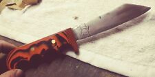 "AMERICAN MADE, ""FORGED IN FIRE"" STYLE CUSTOM G10 HANDLE KNIFE. VERY NICE."
