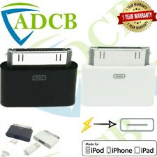 Lightning 8 Pin Female to 30 Pin Male Adapter iPhone4S,iPad3,iPod Touch4 Charger