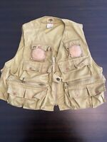 Very Old Vintage One Of A Kind Rare Ideal Fly Fishing Vest Men's Size Large