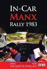IN-CAR MANX RALLY 1983 DVD. ARI VATANEN, OPEL MANTA 400. 63 Mins. DUKE 4015N