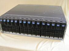 EMC EMC2 DELL KTN 15-BAY 4GB FC FIBRE CHANNEL STORAGE ARRAY 15x 72Gb HDD