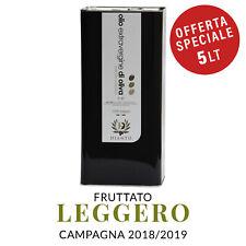 Olio extravergine di oliva Dianto - fruttato leggero - 2018/19 - 5 lt - Italiano