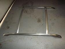03 - 08 Infiniti FX35 FX45 roof CHROME rail rack cross set bar left right OEM //