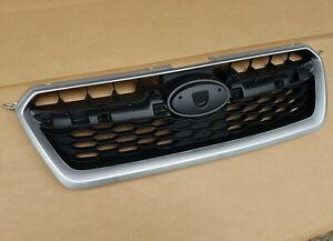 fits 2012-2014 SUBARU IMPREZA Front Bumper Upper Grille w/ Silver Molding NEW