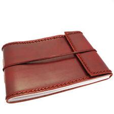 Fair Trade Handmade Stitched Medium Leather Photo Album 2nd Quality