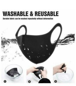 Reusable Face Mask Covering Washable Breathable Dust TFL Hospital Visitors