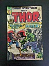 The Mighty Thor # 112 Journey Into Mystery Jan 1964 origin of Loki Hulk