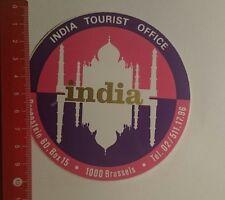 Aufkleber/Sticker: india Tourist Office (17011721)