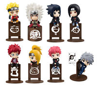 Naruto all sitting set of 8pcs PVC Action Figure figures doll dolls new