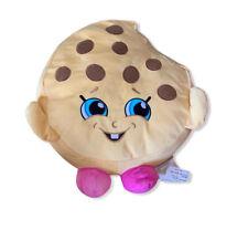 "Shopkins Children's Extra Large 14"" Kookie Cookie Licensed Plush Pillow Toy EUC"