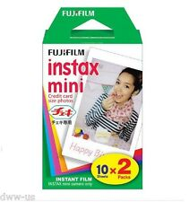 30 Fujifilm Fuji Instax Mini Film White Sheet for 7 7s 8 10 20 25 50  #F03 L012