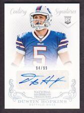 2013 National Treasures Football #276 Dustin Hopkins RC Auto 94/99 Buffalo Bills