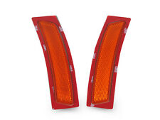 15-17 BMW F80 F82 F83 M3 M4 Front Amber Bumper Reflector Side Marker Lights Pair
